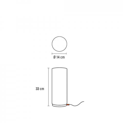 ONE Tischleuchte 33 cm