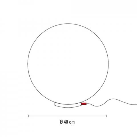 ONE Kugelleuchte Ø 40 cm