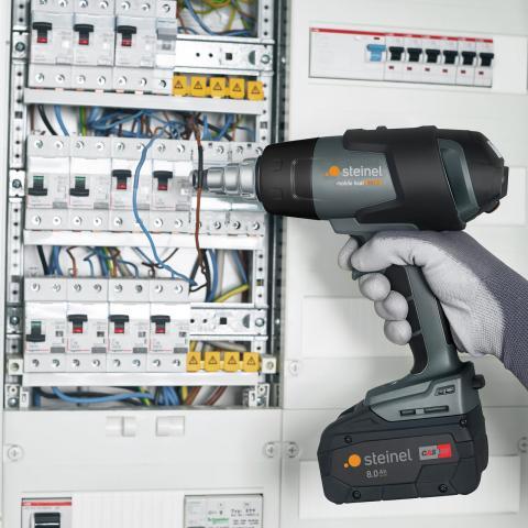 mobile heat MH 5 ohne Akku und Ladegerät