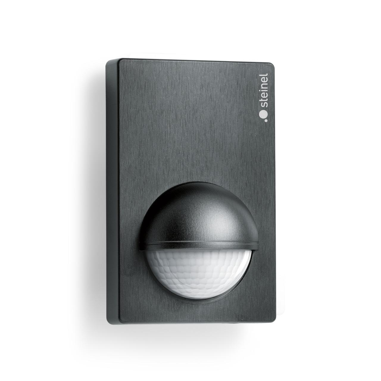 STEINEL IS 180-2 INOX-Look Infrarot-Bewegungsmelder