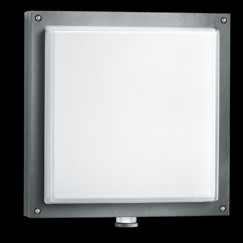 L 690 Led Pmma Anthrazit Sensor Außenleuchte