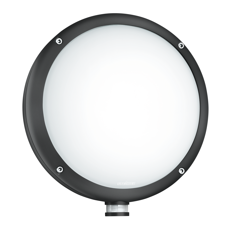 L 330 Led Anthrazit Sensor Außenleuchte